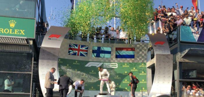 2019 Australian Grand Prix Podium Exclusive Footage