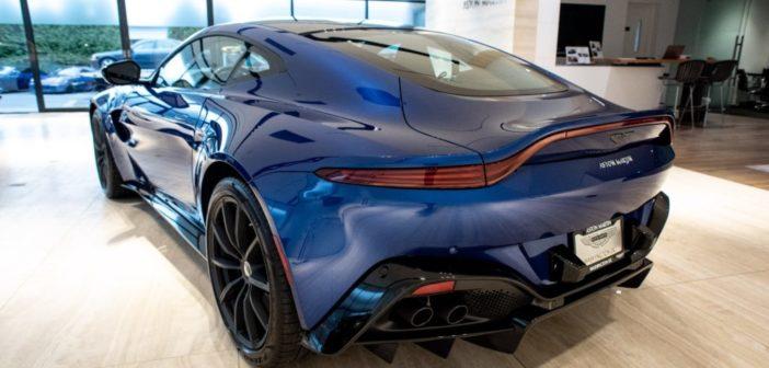 2019 Aston Martin V8 Vantage – First Look