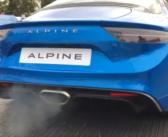 Alpine A110 Exhaust Sound