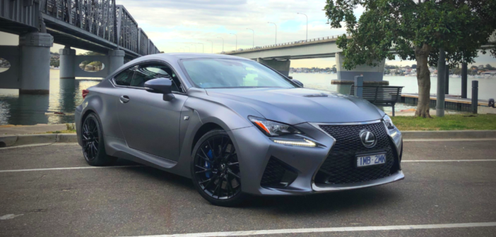 Lexus RC F 10th Anniversary Edition full review