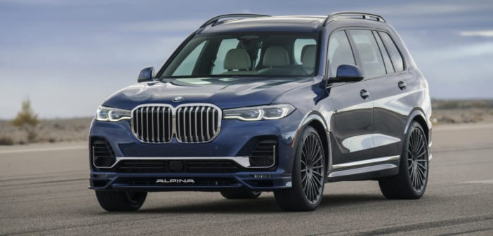 BMW X7: Alpina BX7 unveiled